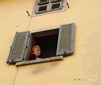 Photograph - Italy - Observer  by Haleh Mahbod