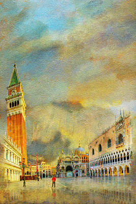 Italy 03 Art Print by Catf