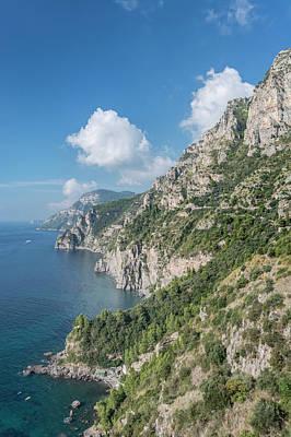 Italy, Amalfi Coast (large Format Sizes Art Print by Rob Tilley