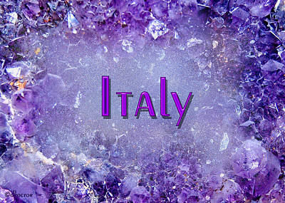 Mixed Media - Italy by Donna Proctor