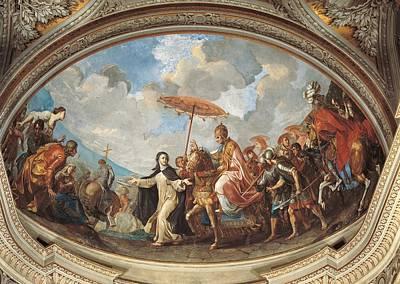 St. Catherine Of Siena Photograph - Italy, Lazio, Rome, Santa Caterina Da by Everett