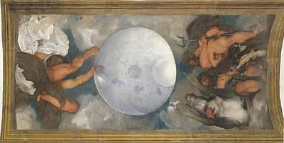 Italy, Lazio, Rome, Villa Boncompagni Art Print by Everett