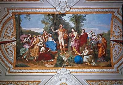 Italy, Lazio, Rome, Villa Torlonia Art Print
