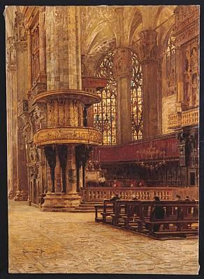 Italy, Lombardy, Milan, Intesabci Art Print by Everett