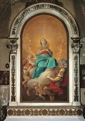 Italy, Lombardy, Milan, San Gottardo Art Print