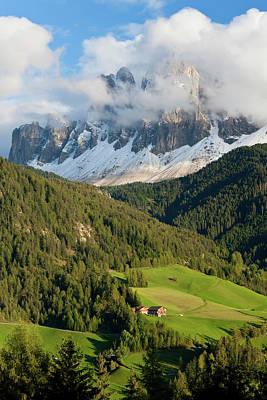 Maddalena Photograph - Italy, Near Bolzano, Val Di Funes, St by Peter Adams