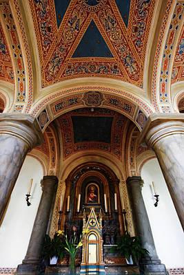 Italy, Pienza, Cathedral Of Santa Maria Art Print