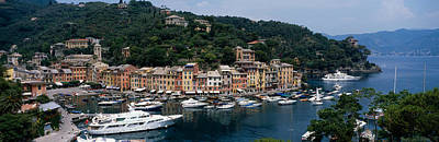 Portofino Italy Photograph - Italy, Portfino by Panoramic Images