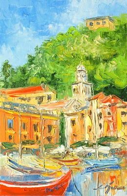 Italy - Portofino Art Print