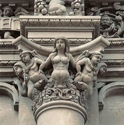 Of Mermaids Photograph - Italy, Puglia, Lecce, Lecce, Santa by Everett