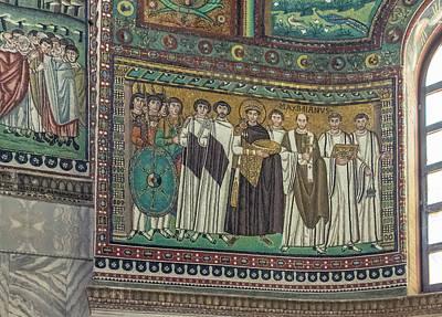 Byzantine Photograph - Italy, Ravenna, Basilica Of San Vitale by Rob Tilley