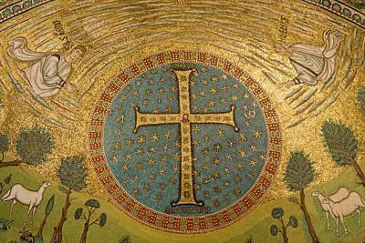 Mosaic Photograph - Italy, Ravenna Mosaics Adorning by Jaynes Gallery