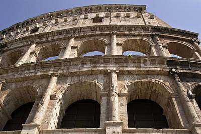 Rome Photograph - Italy, Rome Exterior Portion by Jaynes Gallery