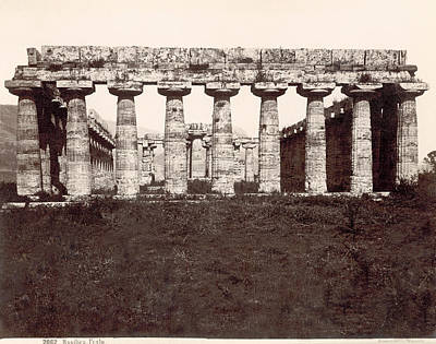 Hera Photograph - Italy Temple Of Hera by Granger