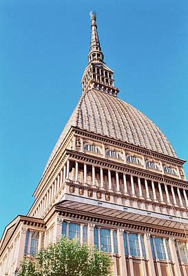 Italy, Turin, View Of La Mole Antonelliana Art Print