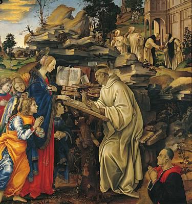 Italy, Tuscany, Florence, Badia Church Art Print by Everett