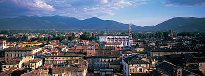 Lucca Photograph - Italy, Tuscany, Lucca by Panoramic Images