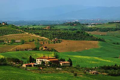 Italy, Tuscany Scenic Of The Val Art Print