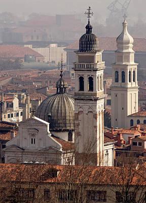 Italy, Venice An Eastward View Art Print by Jaynes Gallery
