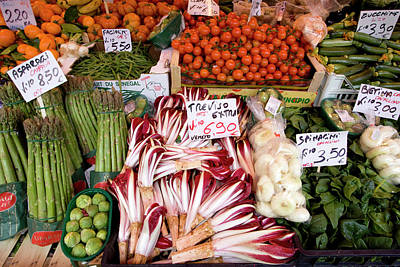 Italy, Venice Vegetables For Sale Art Print by Jaynes Gallery