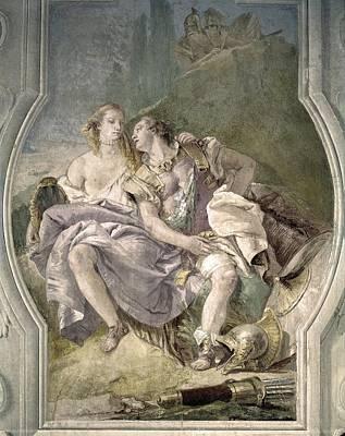 Italy. Vicenza. Villa Valmarana Art Print