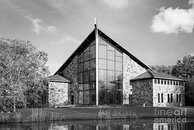 Ithaca College Muller Chapel Art Print by University Icons