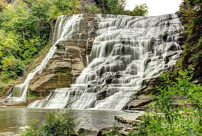 Ithaca Falls Art Print