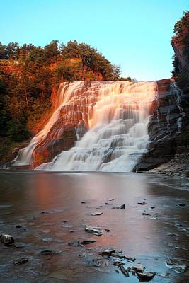 Photograph - Ithaca Waterfalls New York by Paul Ge