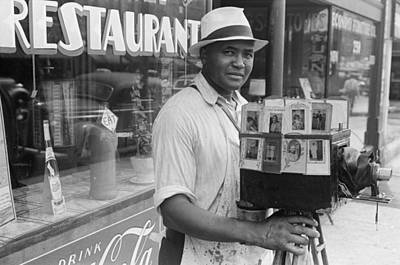 Photograph - Itinerant Photographer In Columbus Ohio by Historic Photos