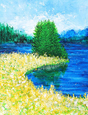 Painting - It's A Beautiful Day by Kume Bryant