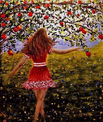 My Beautiful World.. Art Print by Cristina Mihailescu