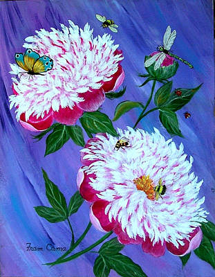 Painting - It's A Bug's World by Fram Cama