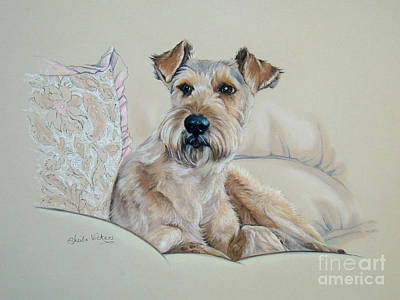 It's  A Dog's Life Art Print by Sheila  Vickers