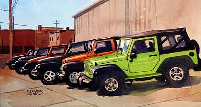 It's A Jeep Thing Print by Spencer Meagher