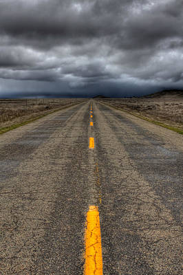Photograph - It's A Long Road by Beth Sargent