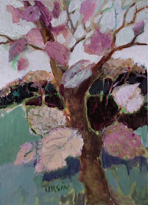Painting - Its About Pink by Diane Ursin