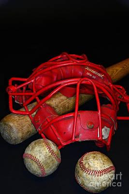 Its All About Baseball Art Print