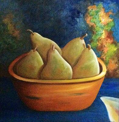 It's All About Pears  Sold Art Print