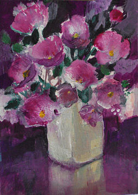 Painting - Its All About Pink by Diane Ursin