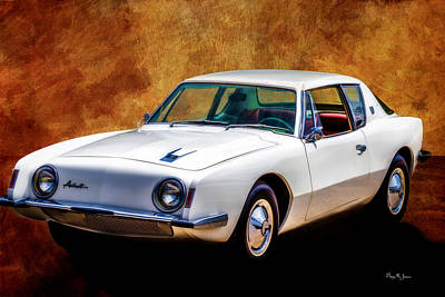 Photograph - Classic - Car - It's An Avanti by Barry Jones