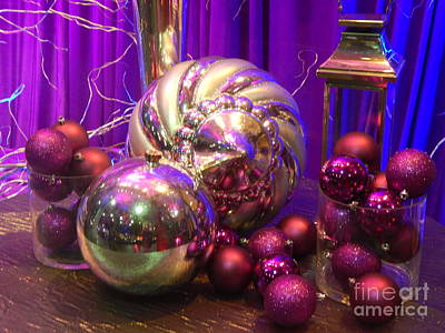 Photograph - Christmas Still Life In New Orleans by Michael Hoard