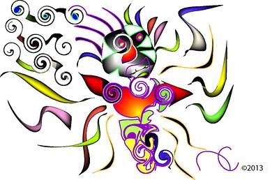 Itsy Bitsy Spider Digital Art - Its Bitsy Crazy by Andy Cordan
