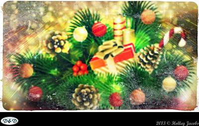 Digital Art - It's Christmas Everywhere by Holley Jacobs