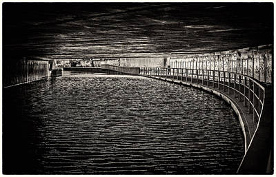 Photograph - It's Dark Under The Canals Of London by Lenny Carter