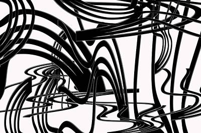 Painting - It's Either Black Or White... by Tanya Tanski