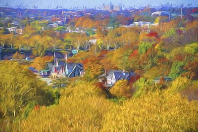 Photograph - Its Fall At Boathouse Row by Alice Gipson