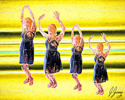 It's Friday Dance Art Print
