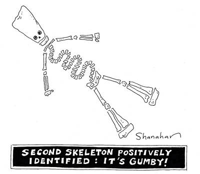 Cartoons Drawing - It's Gumby by Danny Shanahan