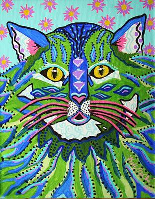 Painting - It's Izzy by Kelly Nicodemus-Miller