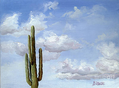 Painting - It's Lonely At The Top by Gretchen Matta